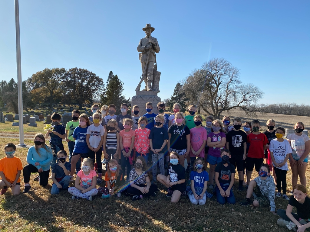 We learned about this Civil War monument.
