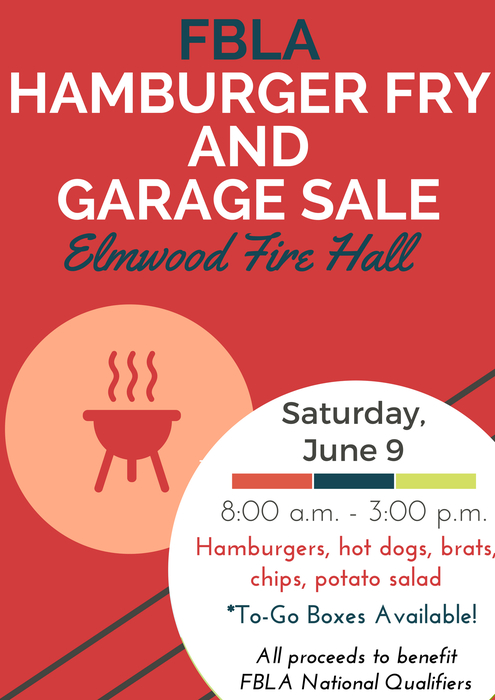 FBLA Fundraiser- Saturday, June 9