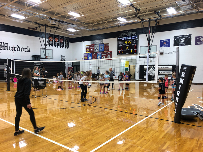 Little Knights Volleyball Camp!!