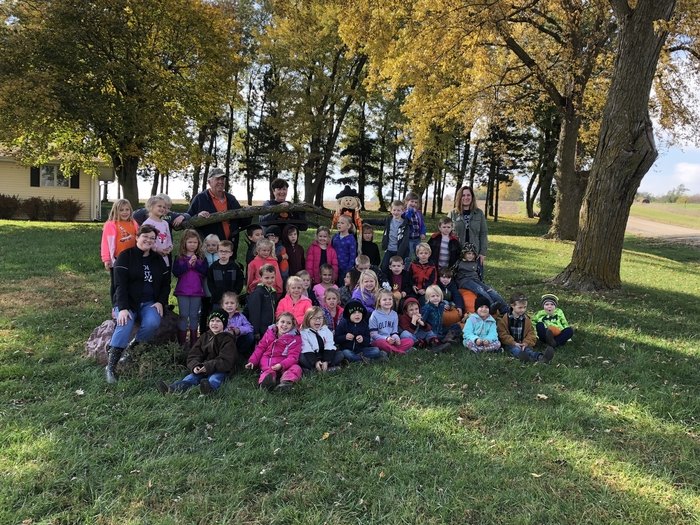 Thank you to Mr. and Mrs. Buck for the great Kindergarten field trip!