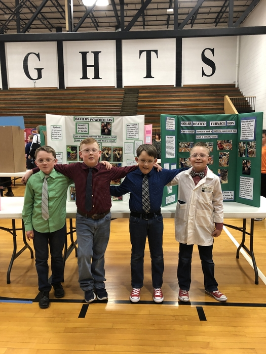 This group of boys created a dual engineering project!!