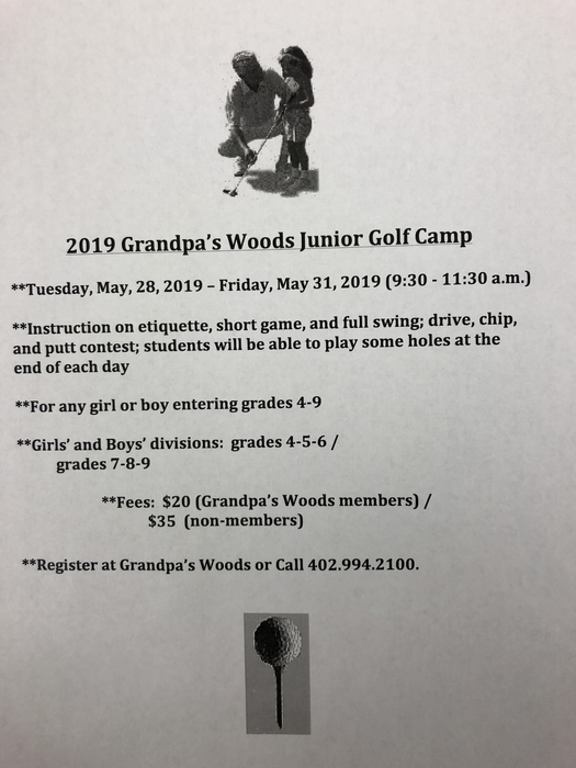 GW Jr Golf Camp
