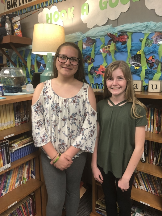 Writers Hannah Petersen and Rylie Gordon.