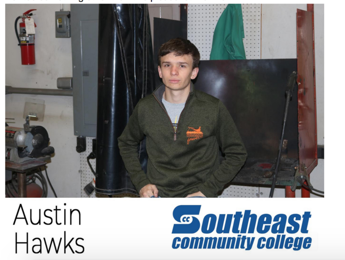 Senior Spotlight Austin Hawks