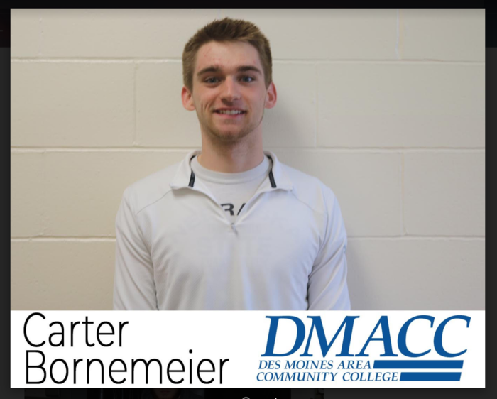 Senior spotlight Carter Bornemeier!
