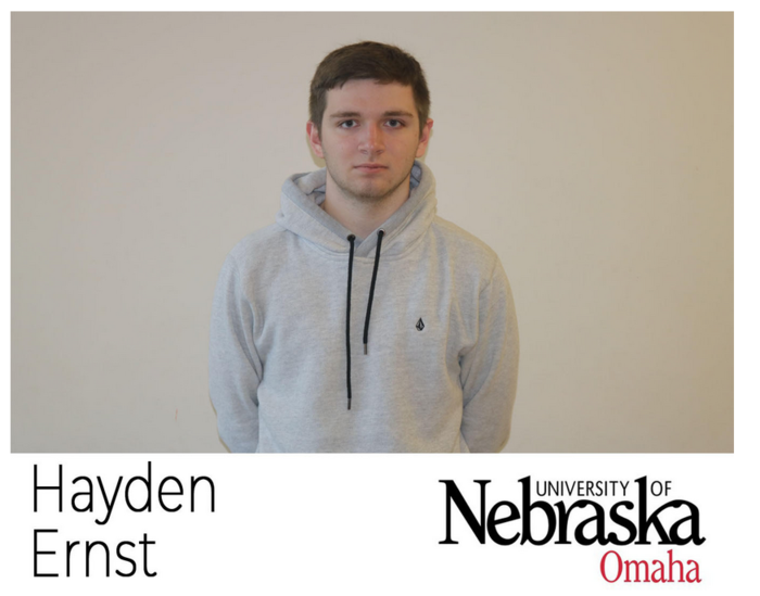 Senior Spotlight Hayden Ernst