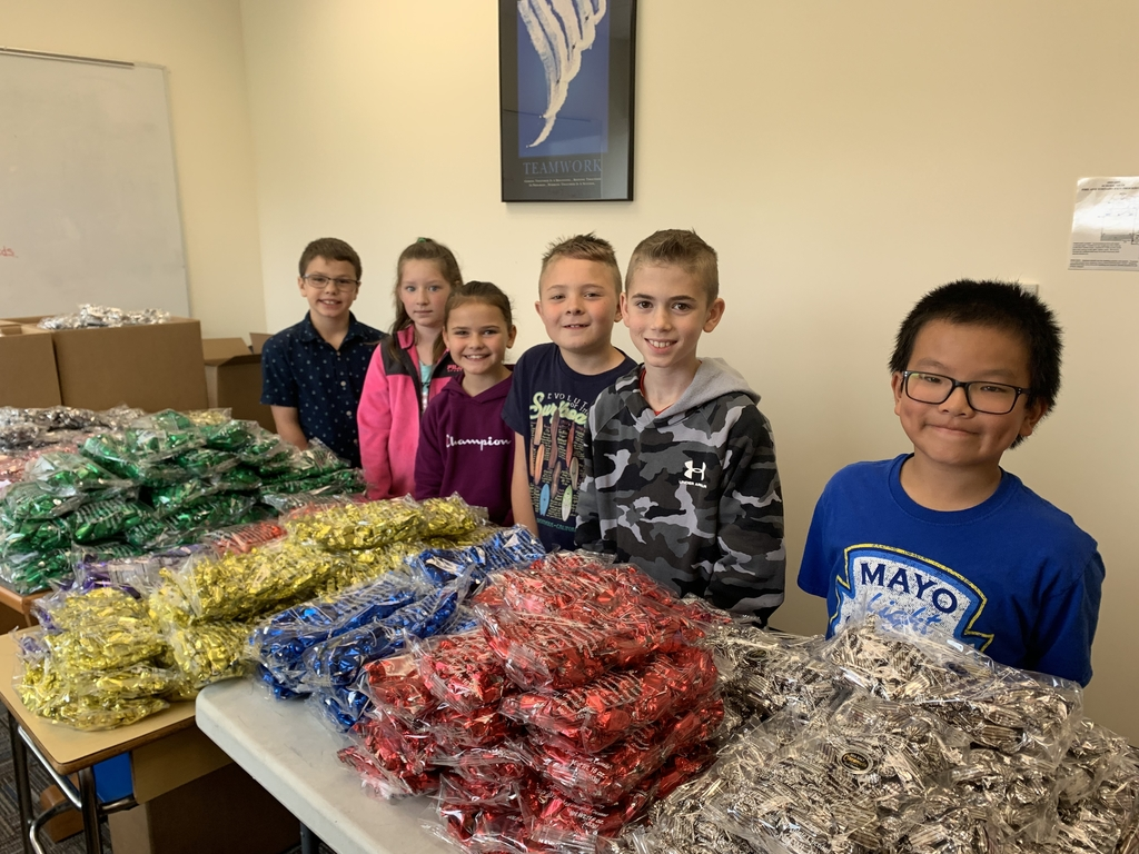 These 4th graders are ready to help you with all your chocolate needs. Proceeds pay for our Nebraska field trips.