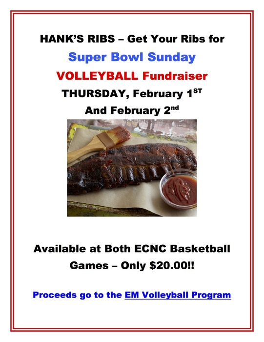 Volleyball Fundraiser - Ribs
